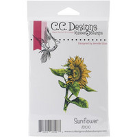 C.C Designs leimasin auringonkukka Sunflower