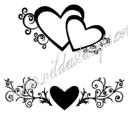 VS leimasimet sydämet