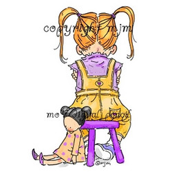 Stamping Bella: kumileimasin - Anna and her timeout chair