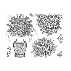 Viva leimasinsetti Flower vase kukkavaasit
