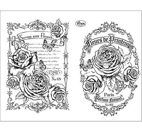 Viva leimasinsetti Fleurs de Printemps