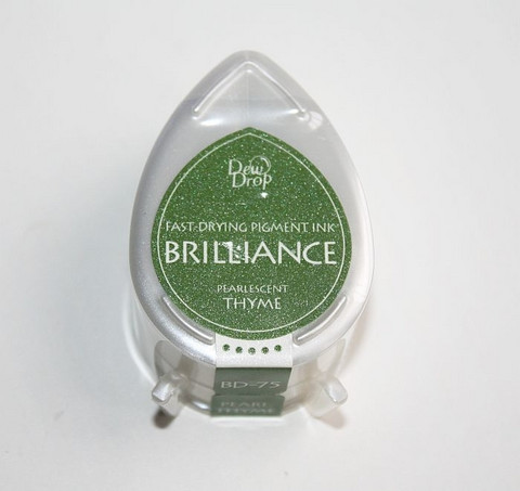 Brilliance dew drop leimamuste pearlescent thyme