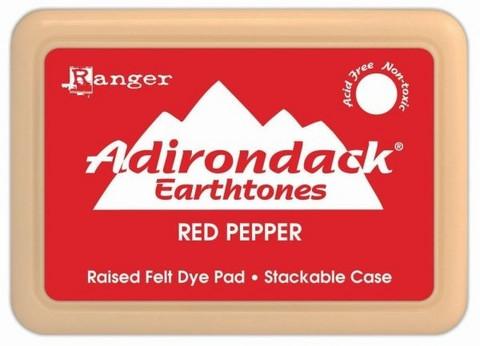 Ranger Adirondack Dye leimamuste Earthtones Red Pepper