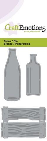 CraftEmotions stanssit pullot ja laatikko