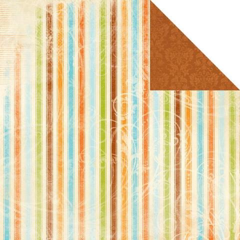 KaiserCraft skräppipaperi Devonshire Clarabelle 12x12