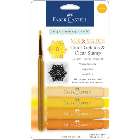 Faber-Castell Mix & Match Gelatos Yellow (keltaiset)