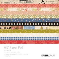 KaiserCraft paperilehtiö Miss Match 6,5