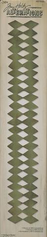 Sizzix sizzlits decorative stripe stanssi Harlequin Border
