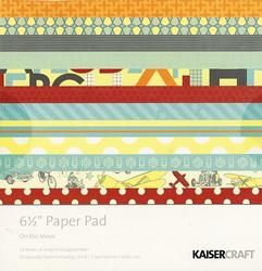 KaiserCraft paperilehtiö On the move 6,5