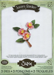 Sizzix thinlits stanssisetti Flowering Quince