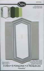 Sizzix Framelits Frame, Ironwork