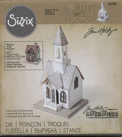 Sizzix BigZ-stanssi TH Village Bell tower torniosa