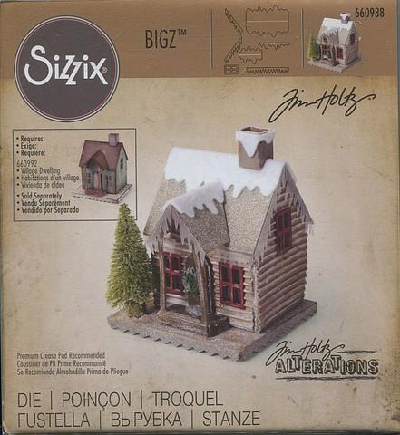 Sizzix BigZ-stanssi TH Village Winter lumi/jääosat
