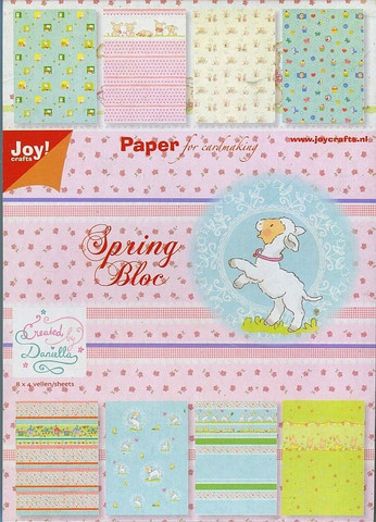 Joy Craft paperilehtiö Spring a5