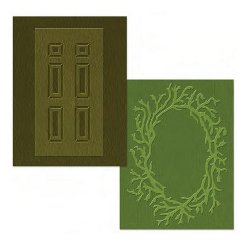 Sizzix kohokuviointikansiot Door & Wreath set