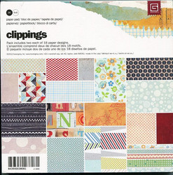 Basic grey paperikko Clippings  6x6