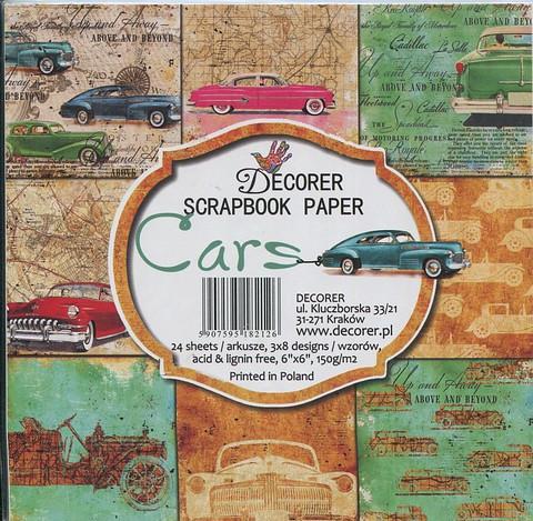Decorer paperikko autot cars 6x6
