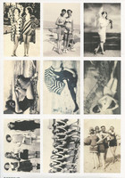 Reprint korttikuvat Bathing Beauties a4