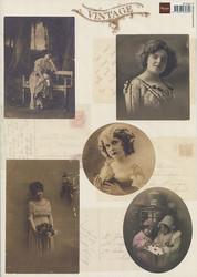 MD korttikuvat Vintage vk9524