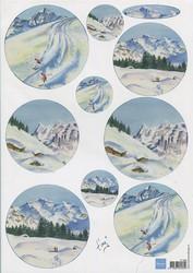 MD korttikuvat Snow Mountains it588