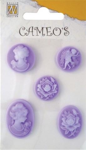 Cameot tarralla violetti