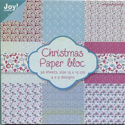Joy Craft paperikko Christmas 6x6