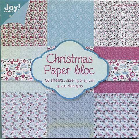 Joy Craft paperikko Christmas 6x6