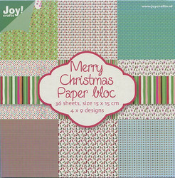 Joy Craft paperikko Merry Christmas 6x6