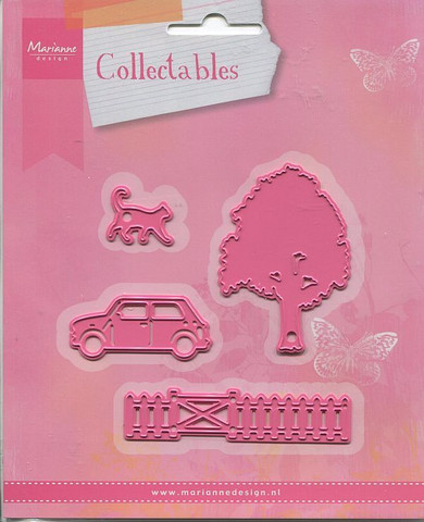 MD collectables Village decoration set 2