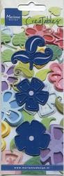 MD creatables stanssit kukat ja lehti