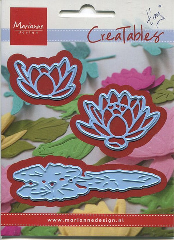 MD creatables stanssi lumpeet ja kukat Tiny`s waterlily small
