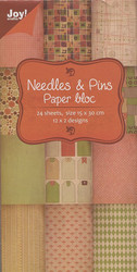 Joy Craft paperikko Needles & Pins 15x30cm