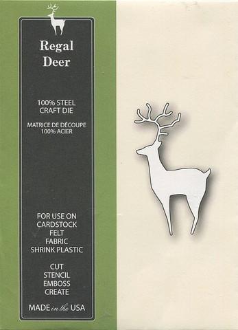 Poppystamps stanssi Regal Deer