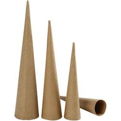 Paperimassakartiot 3kpl, 20, 25, 30cm