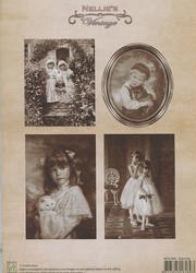 NS vintagekorttikuvat Dancing