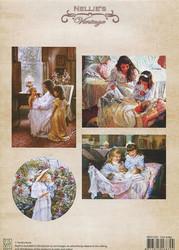 NS vintagekorttikuvat Our baby