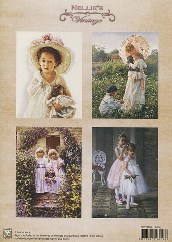 NS vintagekorttikuvat Family