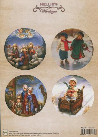 NS vintagekorttikuvat Children 014