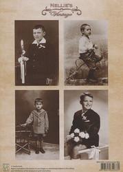 NS vintagekorttikuvat Communion boy 043