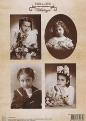 NS vintagekorttikuvat Communion girl 044