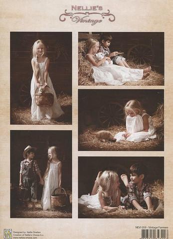 NS vintagekorttikuvat Vintage Farmers 059