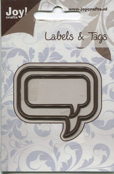 Joy Craft Labels & Tags puhekuplat