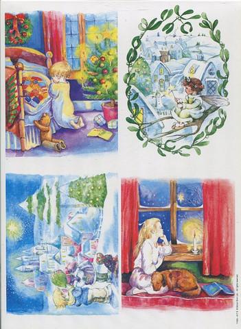 HP korttikuvat joululapset