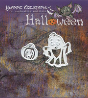 Yvonne Creations stanssit Halloween Little Ghost