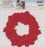 Yvonne Creations Cozy Christmas Wreath kranssi