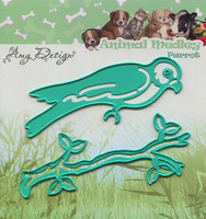 Amy Design stanssit Animal Medley Parrot