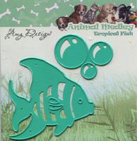 Amy Design stanssit Animal Medley Tropical Fish kala