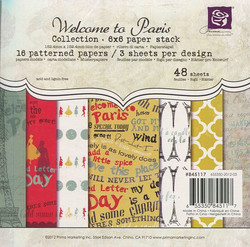 Prima Marketing paperikko Welcome to Paris 6x6