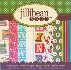 Jillibean soup paperikko Sweet & Sour soup 6x6