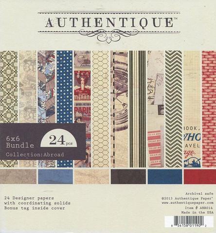 Authentique paperikko Abroad 6x6